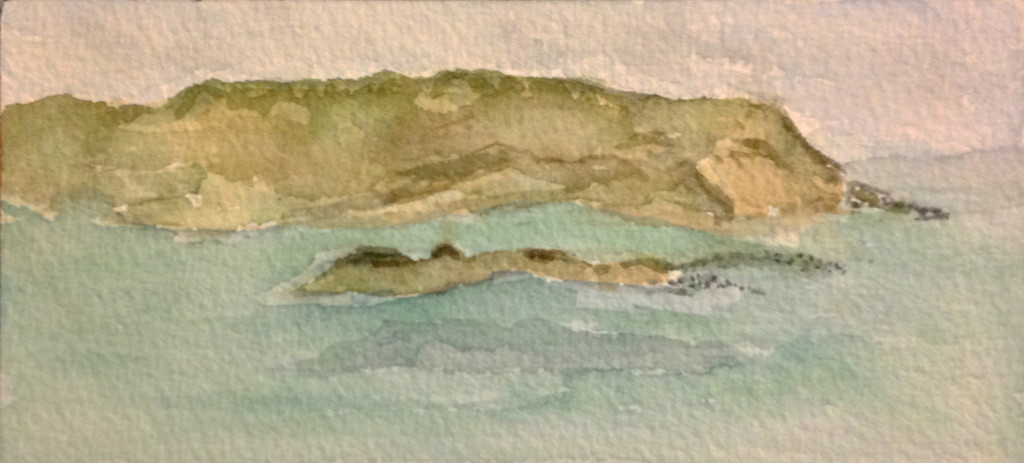 Nasawena island from Cuttyhunk Island copy