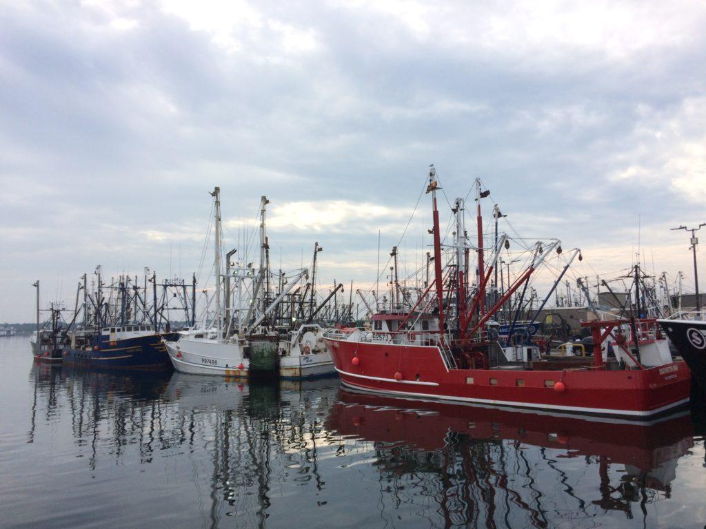 Leaving New Bedford Harbor
